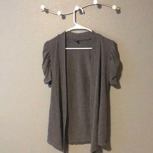 Nice grey open cardigan